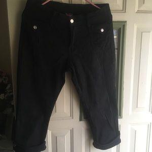 Pants size 7/8 black